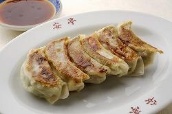 安亭の焼き餃子